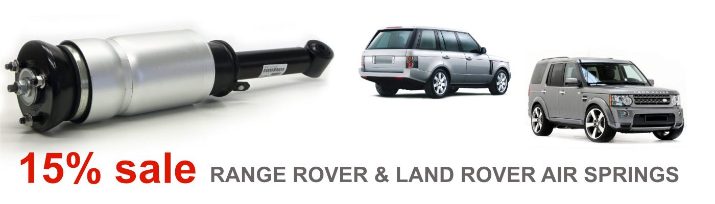 Land rover Range Rover springs sale